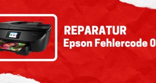 Epson Drucker Fehlercode 0xf3