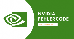 NVIDIA Fehlercode